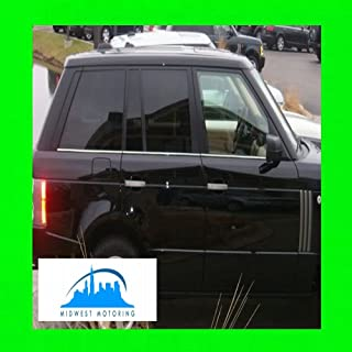 312 Motoring fits 1987-1991 BMW E30 325I 325 I Chrome Window Trim MOLDINGS 2PC 1988 1989 1990 87 88 89 90 91