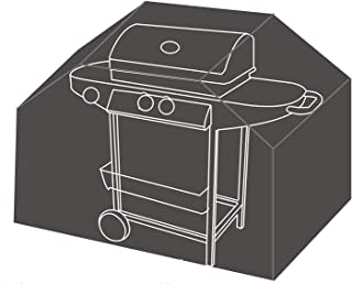 """BenefitUSA Gas Grill Barbeque Cover BBQ Protector Outdoor Cart 72""""/31.5"""" L 28"""" D 50""""/38.2"""" T-Grey"""