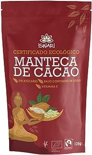 Iswari Manteca De Cacao Superaliemtno 125Gr; Bio 1 Unidad 200 g
