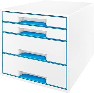 Ablagesysteme Office Desktop Schubladentyp Dateimanager Schreibwarenschrank 3-lagiger Aktenschrank A4 Papierdatenschrank Aufbewahrungsbox Aufbewahrungsordner B/ürobedarf Schreibwaren