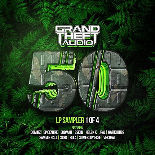 Grand Theft Audio 50 LP Sampler 1 of 4
