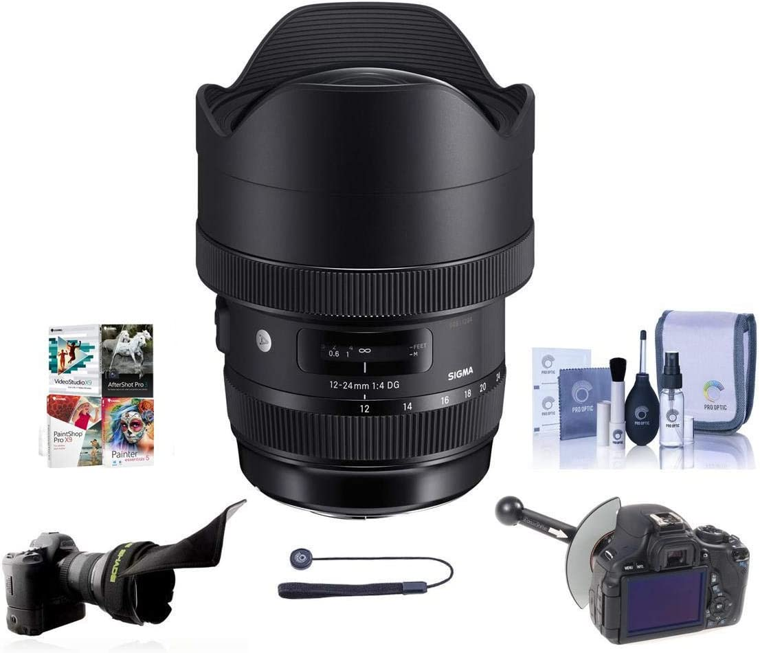 Sigma 12-24mm f 4 DG HSM Genuine Art Lens Wide-Angle Can New sales for Zoom Super