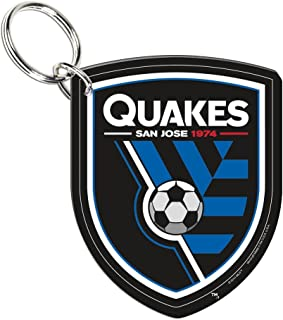 WinCraft Soccer 21124014 San Jose Earthquakes Premium Acrylic Key Ring