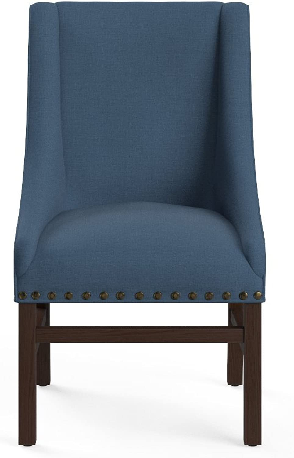 Bpink Madison Dining Chair - Classic Traditional Dining Chair Atlantic bluee (CHAMAD06blue)