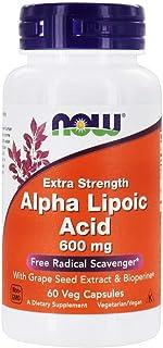 NOW Foods - Alpha Lipoic Acid 600 mg. - 60 Vegetable Capsule(s)
