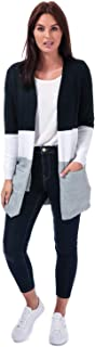 Only Womens Queen Colourblock Cardigan in Night Sky.