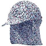 UPF50+ Sombrero de Sol con Cubrenuca para Bebé Niños Niñas Anti-UV Gorro...