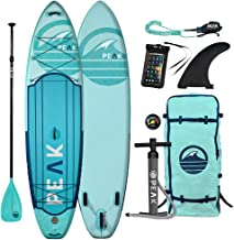 Peak Expedition Inflatable Stand Up Paddle Board | 10'6