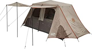 Coleman Instant Up Camping Tent | 2, 6 or 8 Person Silver Series Easy Setup Tent | Side Entry