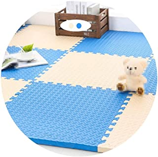 Interlocking Foam Mats, Soft Play Mat, Used For Baby Crawling Game, Protective Floor Tile Set, Multiple Sizes (Color : D, ...
