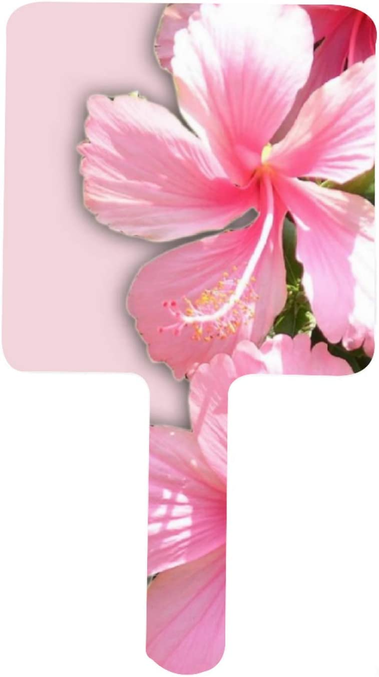 Colorful Tropical Colored excellence Flowers Mirror Decorative Mir Outlet ☆ Free Shipping Handheld