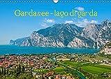 Gardasee - lago di Garda by Sascha Ferrari (Wandkalender 2019 DIN A3 quer): Kalender mit eindrucksvollen Bildern vom Gardasee (Monatskalender, 14 Seiten )