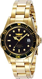 Invicta Men's Pro Diver 37.5mm Stainless Steel and Gold...