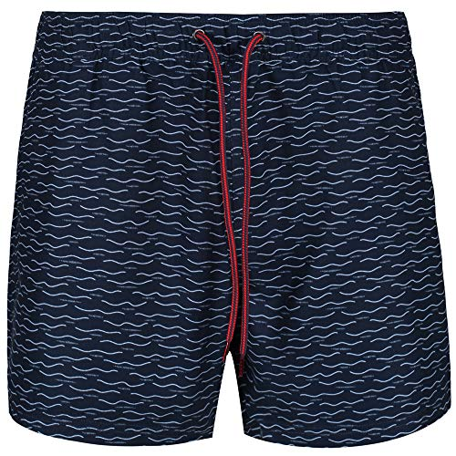 Ben Sherman Mens Swim Short NAVAGIO Navy, Größe:L