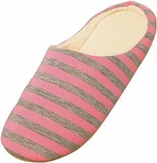 BESTOYARD Zapatillas de Estar por Casa Invierno Zapatillas felpa Antideslizante para Mujer