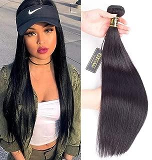 QTHAIR 12A Straight Human Hair Bundles(22