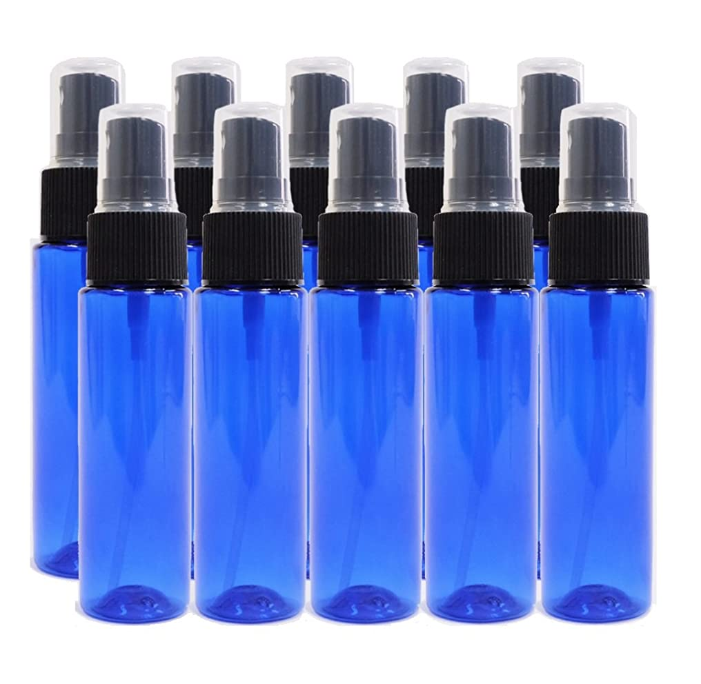 豊富逆さまに敏感なease 保存容器 スプレータイプ プラスチック 青色 30ml×10本