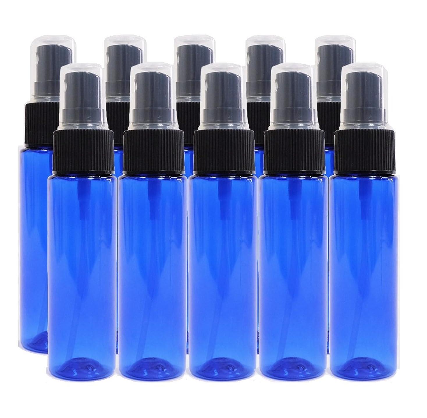 振る究極の化学薬品ease 保存容器 スプレータイプ プラスチック 青色 30ml×10本