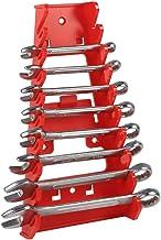 Garosa Clé Organisateur 9 Fente Porte-clé en Plastique Rouge Clés Standard Outils de Garde Keeper pour Usage Domestique de...
