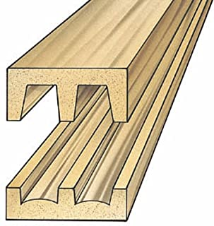 Hardwood Sliding Door Track and Upper Guide (set)