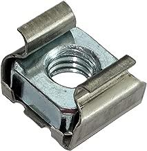 AERZETIX 50x Tuercas hexagonales autoinsertables M3 5.5mm H4mm DIN985 acero inoxidable A2 C19162