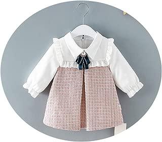 foclock Newborn Baby Girls Cute Fashion Long-Sleeve Shirts and Kilt Dress Baby Girl Clothing Shirt Dress Two-Piece Suit