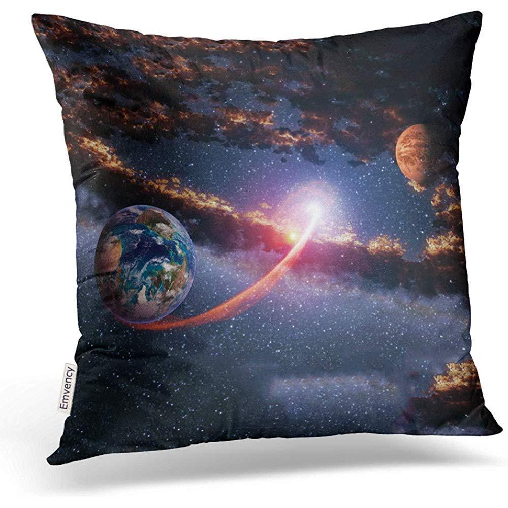 Leisure-Time Funda de Almohada Espacio Exterior Planeta Tierra ...