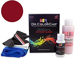 Dr. ColorChip Honda Civic Automobile Paint - Habanero Red Pearl YR-557P - Road Rash Kit