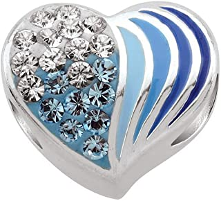 Persona 925 Sterling Silver Totally Cool Blue Gradient Charm Bead H14549P2-02