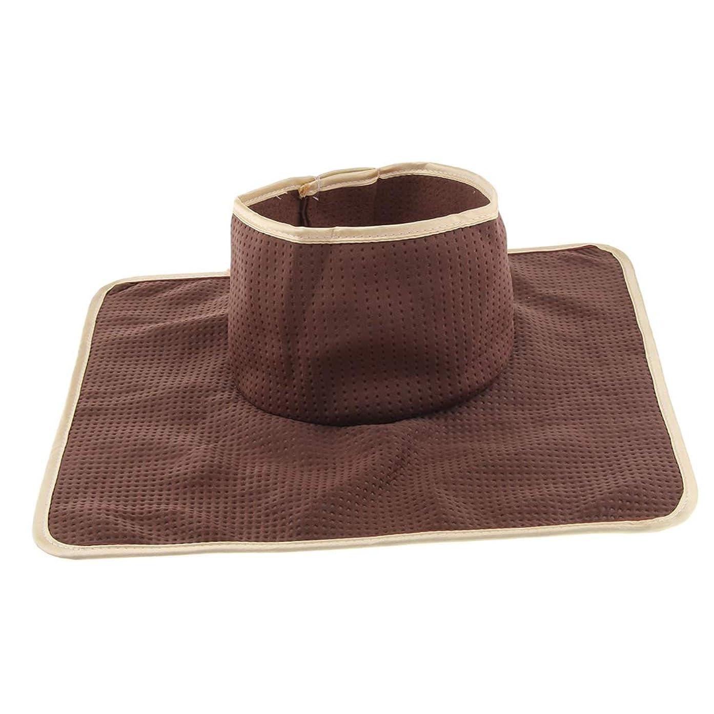何もない遺伝的緩めるFLAMEER マッサージベッド サロンテーブル シート パッド 頭の穴 洗濯可能 約35×35cm 全3色 - コーヒー