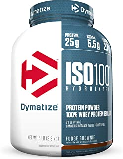 Whey Protein Hydrolized Iso 100 Sabor Brownie (2,57Kg) - Dymatize