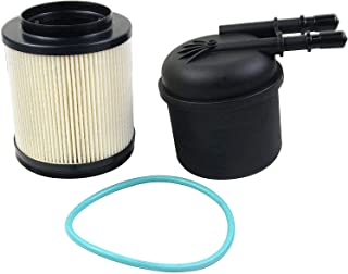 Bicos FD-4615 Fuel Filter Water Separator Compatible with 2011-2016 Fo rd F250 F350 F450 F550 HD Fo rd Super Duty 6.7 Powerstroke Diesel Fuel Filter Replaces# FD4615 BC3Z9N184B