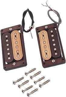 SUPVOX Tornillos de Montaje de Recogida 12Pcs Instrumento Accesorio para Pastillas PB JB P90 Negro