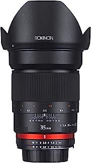 Rokinon 35mm F1.4 AS UMC Wide Angle Lens for Olympus and Panasonic Micro 4/3 (MFT) Mount Digital Cameras (RK35M-MFT)