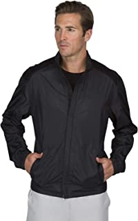Three Sixty Six Full Zip Golf Jacket for Men - Lightweight Mens Rain Coat - Water Resistant...