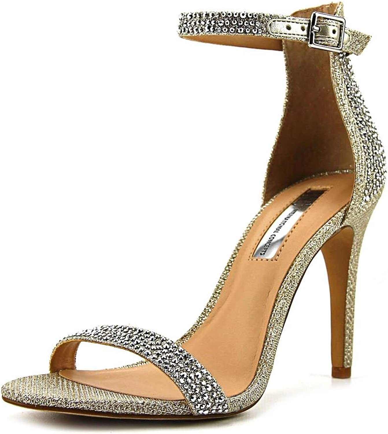 INC International Concepts Womens Roriee Open Toe Special Occasion Ankle Stra.