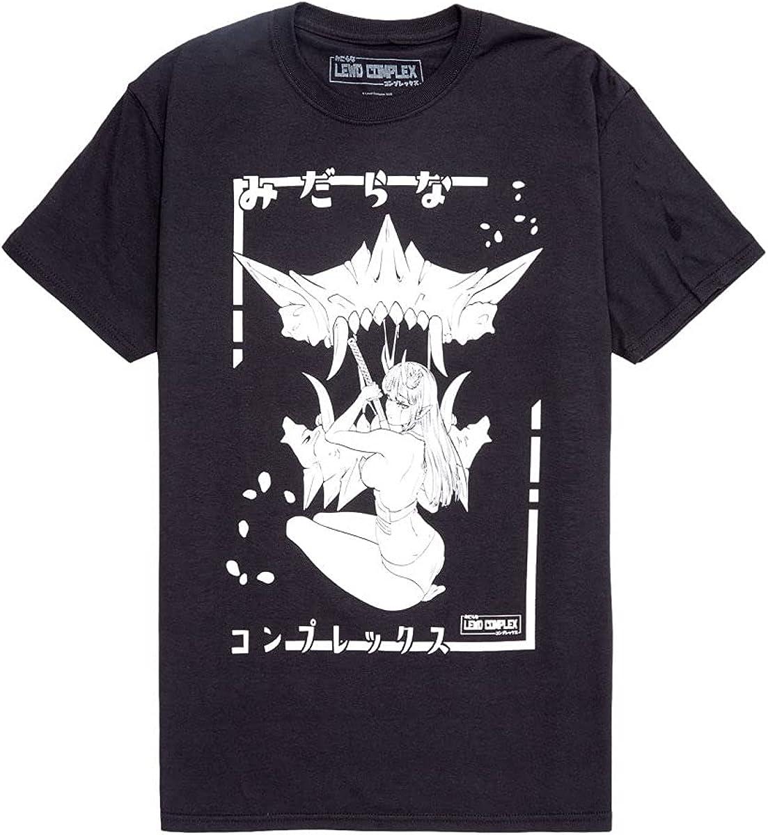 Lewd Complex Demon Girl & Mask T-Shirt
