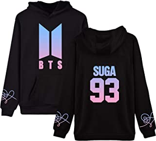 BTS Love Yourself Hoodie Suga V Jung Kook Jimin World Tour Sweatshirt Pullover