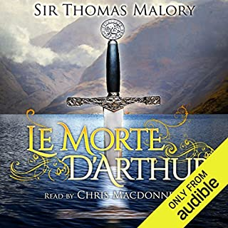 Le Morte D'Arthur                   By:                                                                                                                                 Sir Thomas Malory                               Narrated by:                                                                                                                                 Chris MacDonnell                      Length: 37 hrs and 26 mins     75 ratings     Overall 4.4