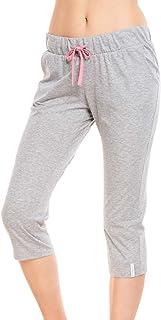 Rösch Be Happy! 1212015-11722 Women's Heather Grey Pyjama Pant