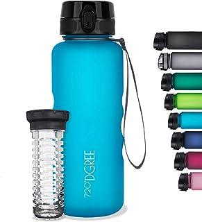 720°DGREE Water Bottle uberBottle - 50 oz, 1.5 Liter | Your Lifestyle Tritan Drinking Bottle 1500ml Blue