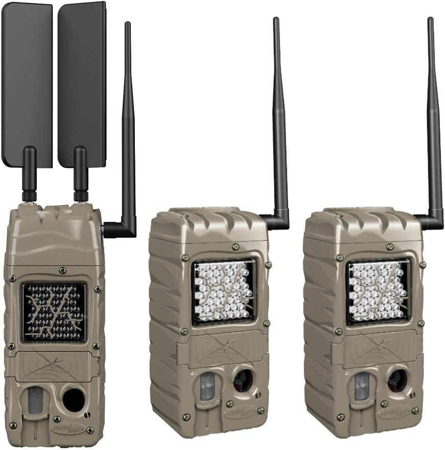 Cuddeback CuddeLink Cell Trail Camera (Verizon), Essentials Bundle (3 Items)