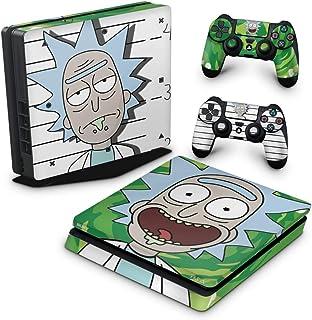 Skin Adesivo para PS4 Slim - Rick Rick And Morty