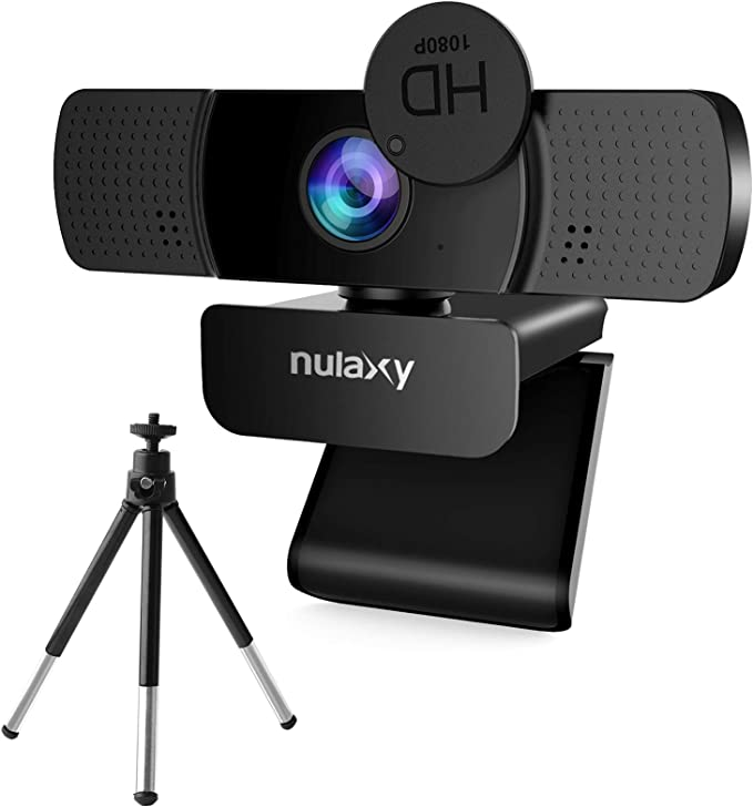 Amazon.com : Nulaxy C903 HD Webcam, 1080P Webcam with Microphone, Privacy Cover and Tripod, USB Webcam for PC Video Calling, Conference, Works with Skype, Zoom, FaceTime : Electronics