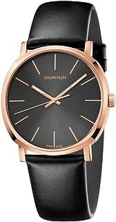 Calvin Klein Posh K8Q316C3 Leather Analog Casual Watch for Men
