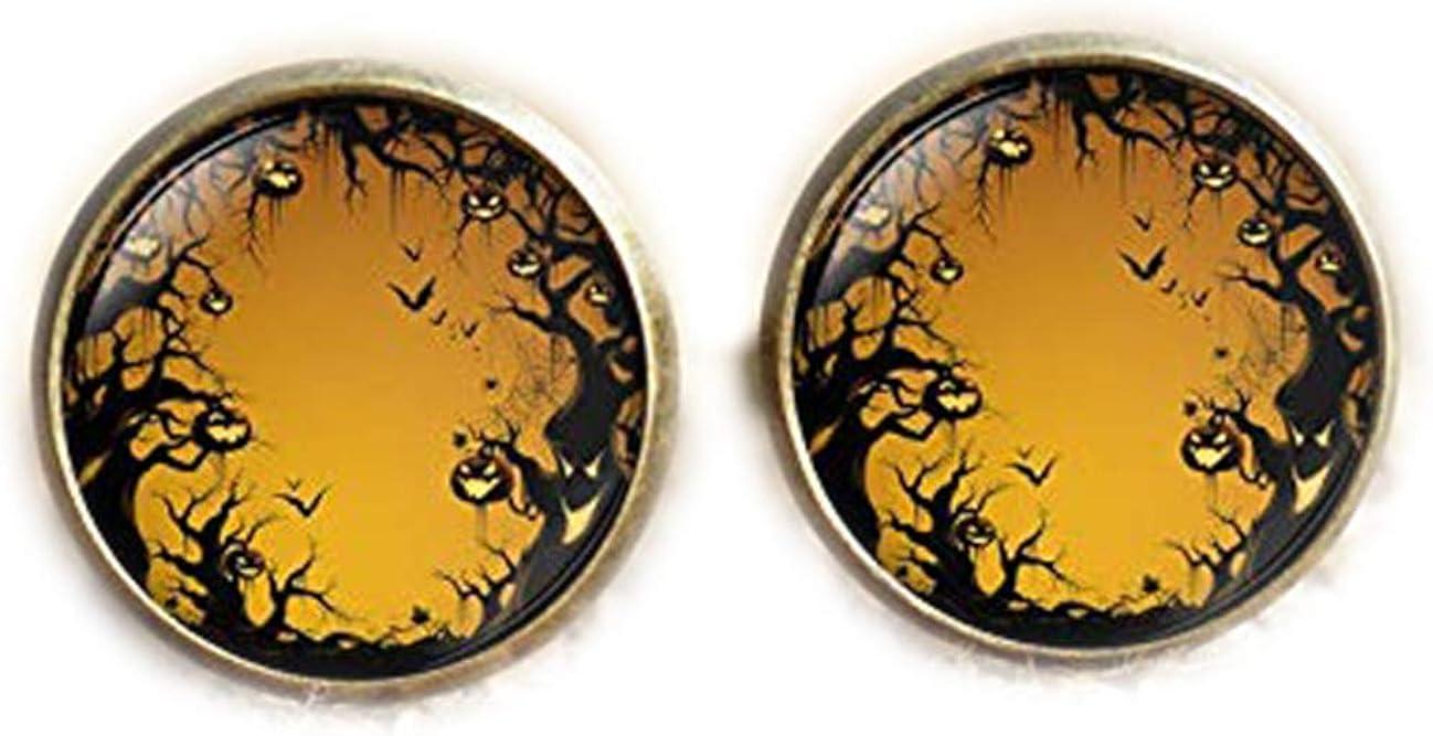 Death Devil Art Picture Cuff Links,Gift of Love,Halloween Cufflinks
