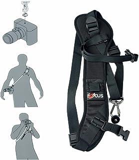 Top1Shop Camera Strap,Camera Sling Strap with Quick Release Plate, Adjustable and Comfortable Neck/Shoulder Belt for DSLR/...