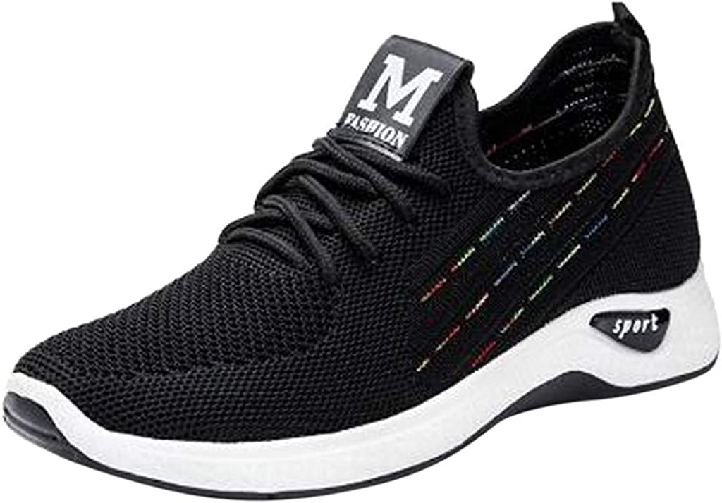 New Sports Shoes Flying Woven Casual Wild Running Shoes Explosion Female Shoes