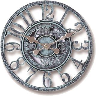 ساعة حائط رقم CATSRE ساعة حائط فناء كبيرة خارجية للحدائق ساعة حائط ذات أرقام عربية