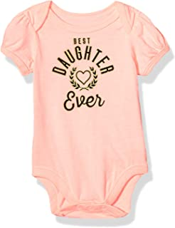 Baby Girls Short Sleeve Graphic Tees